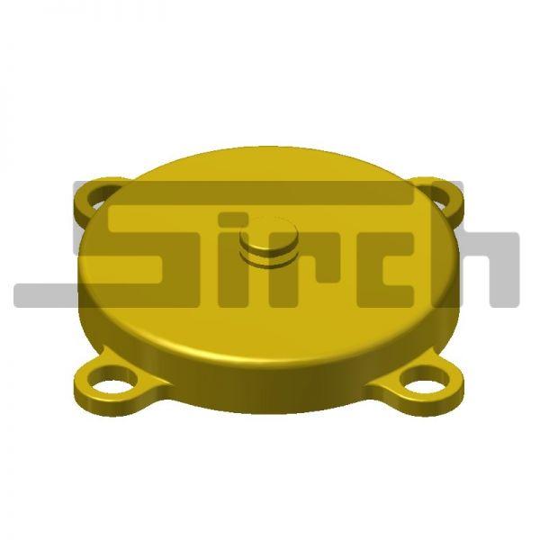 Messingkappe für SICON - Dokumentenfach Art.Nr. 21276