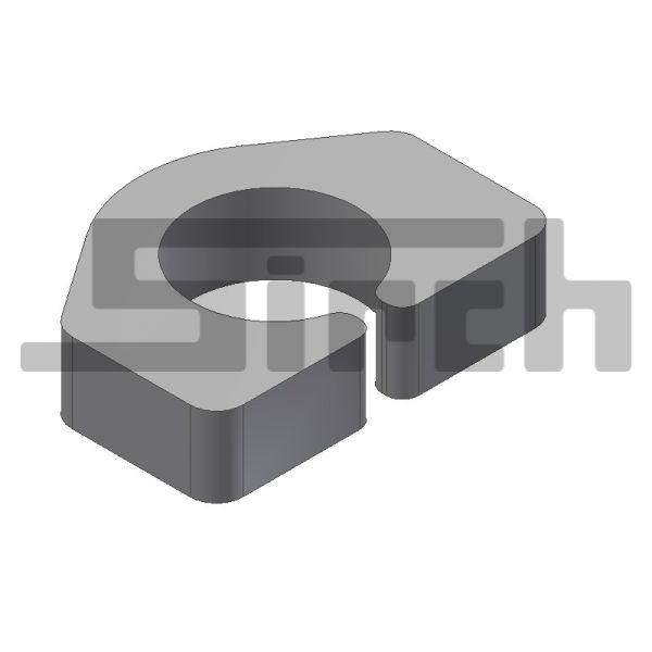 Lager Verriegelung 30 mm (t=15 mm) Art.Nr. 09040