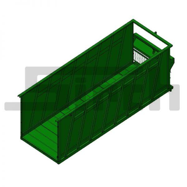 Biogas Grundbehälter lang Art.Nr. 23475