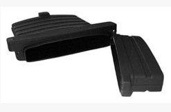 Dokumententasche Kunststoff schwarz Maß: 360x270 Art.Nr. 22825