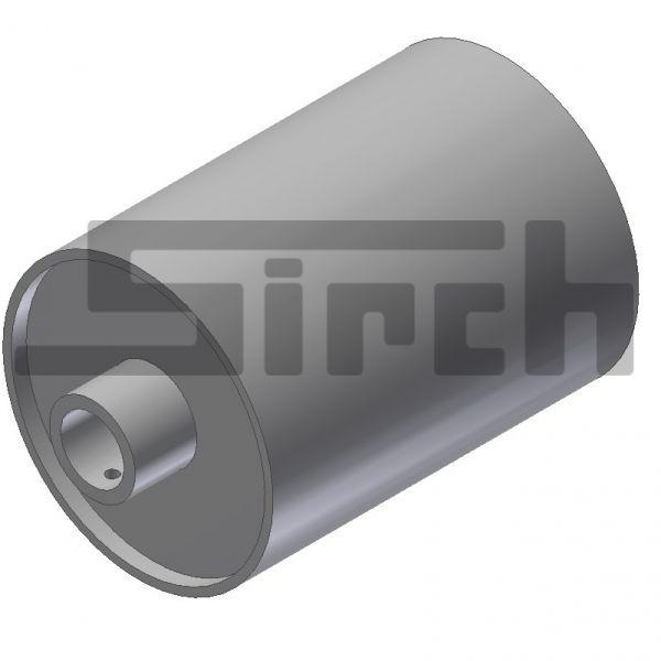 Rolle für Citycontainer Länge 200 mm, Ø=133 mm Art.Nr. 11584