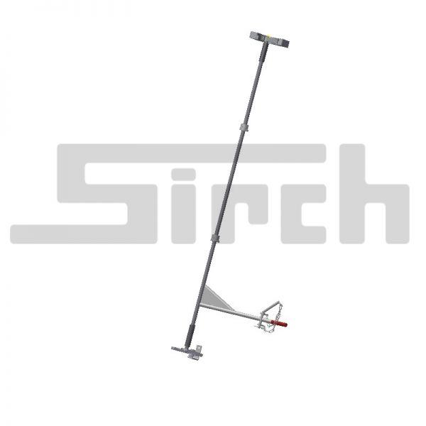 Bausatz Türverriegelung Scheiben-Nasen Art.Nr. 09001 Scheiben-Nasen oben, Haken unten