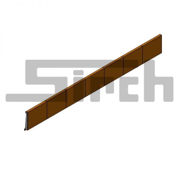 Überwurfschutz 7200 x 650 Art.Nr. 22882