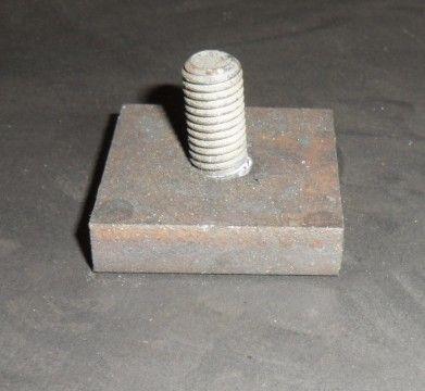 Anbindung Druckratsche beweglich für Bahncontainer Art.Nr. 24617