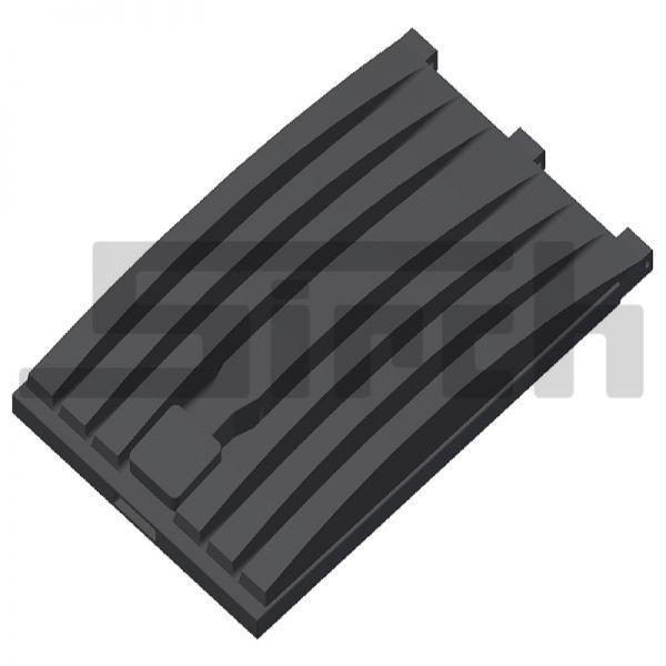 Containerdeckel Duraflex schwarz Art-Nr. 10401