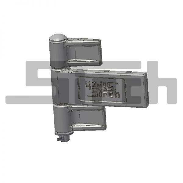 ARC Türen - Scharnier Containerbreite lang rechts LB = 2300 mm Art.Nr. 08050