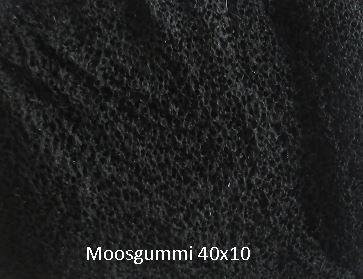 Dichtung Moosgummi 40x10 Art.Nr. 24721
