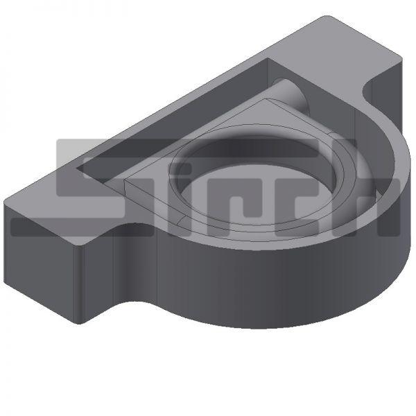 Zurrmulde mit Ring ( rund ) Belastbarkeit 2000 daN Art.Nr. 21670