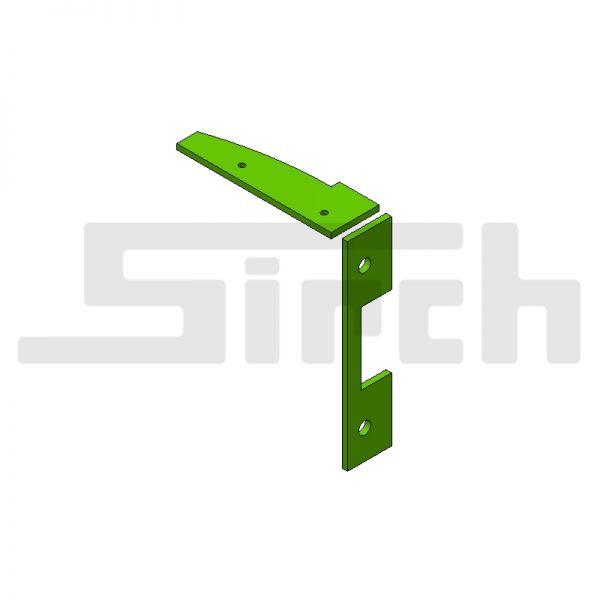 Führungsschieneabdichtsatz für 60° Schild Art.Nr. 25586