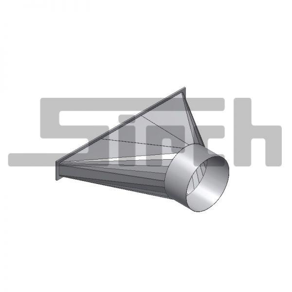 Einblastrichter SBT für Trocknungsboden für Schlauch Ø 400 mm Art.: 24591