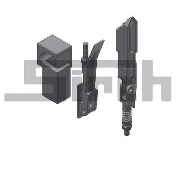 Pendelverschluss H11 kpl. 90° gedreht rechts Art.Nr. 22303