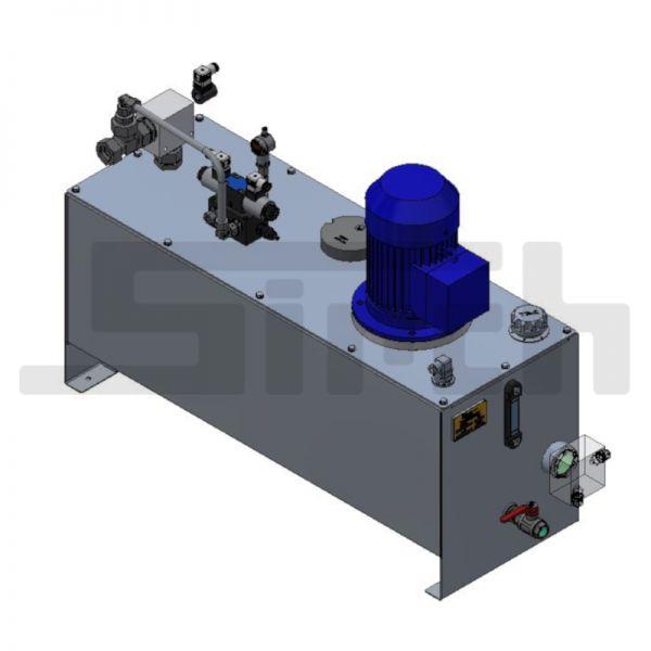 Hydroaggregat Interpump 100 l - inkl. Hydrauliköl Art.Nr. 25735