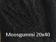 Moosgummi 20 x 40 mm Art.Nr. 40003