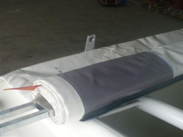 Ersatzplane für Bahncontainer (Schüttgut und Multitainer) Art.Nr. 24615