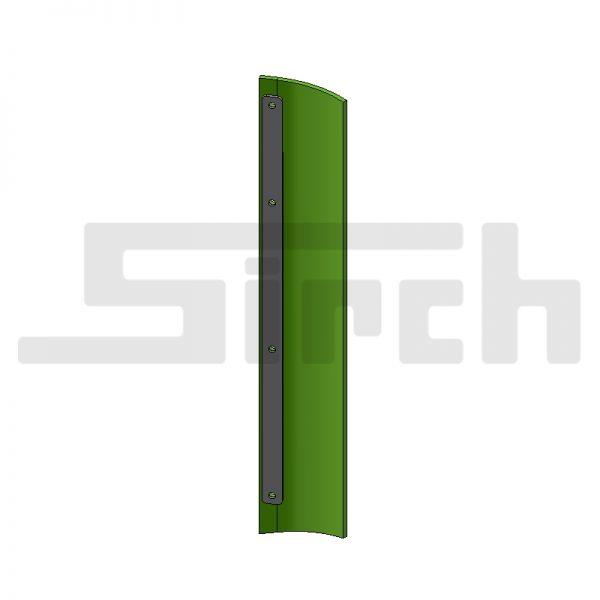 Abstreifersatz seitlich für 3 m breites Schild Art. Nr. 25581