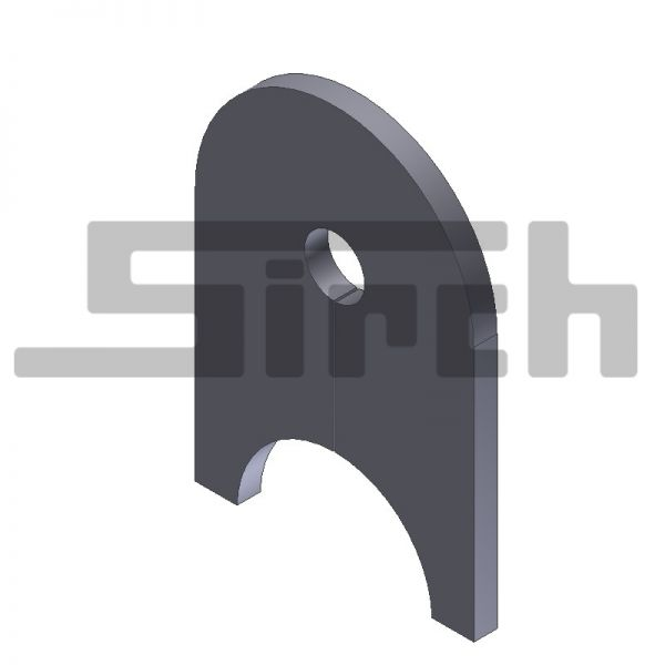Sicherungsblech Rollenachse Art. Nr. 03521