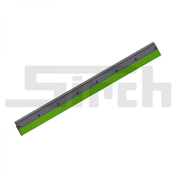 Abstreifersatz Boden unten für 60° Schild Art. Nr. 25576