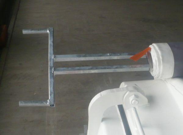 Planenkurbel zum Einstecken in Alu-Spannprofil für Bahncontainer Art.Nr. 24628