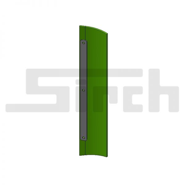 Abstreifersatz seitlich für 60° Schild Art. Nr. 25577