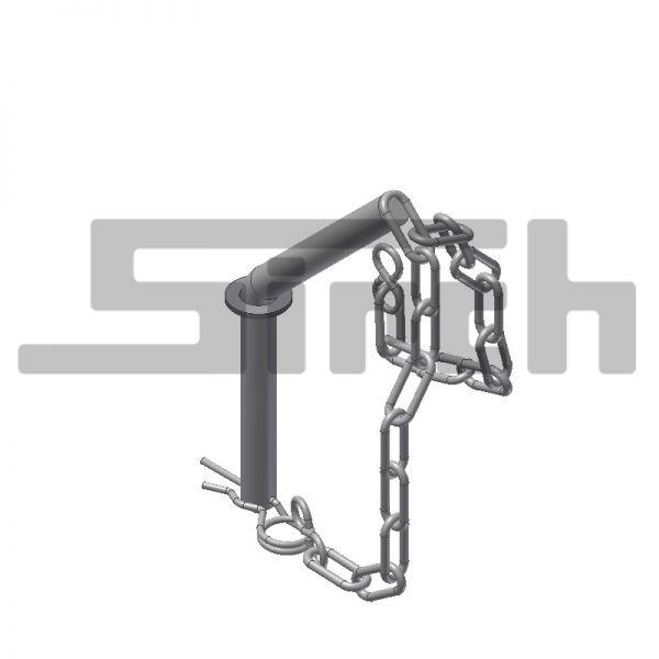 Sicherungsstecker galvanisch verzinkt Art-Nr. 09130