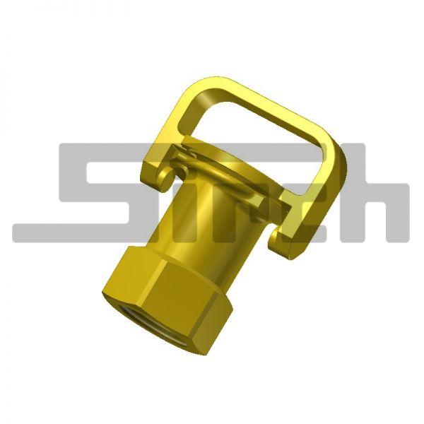 """Sicherheits-Peilstabverschluß 1""""; Art.Nr. 10818"""