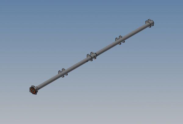 Federentlastung Bausatz für CH - Klappe Nr. 25379