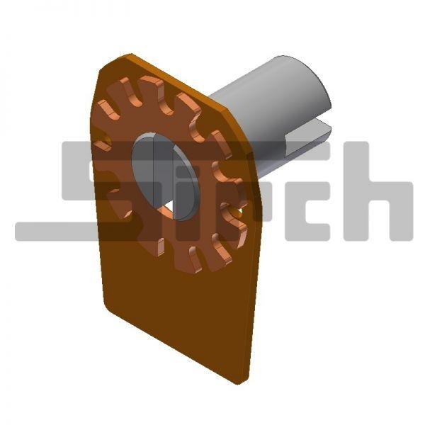 Drehbolzen einschl. Drehbolzenhalterung Art.Nr. 23981