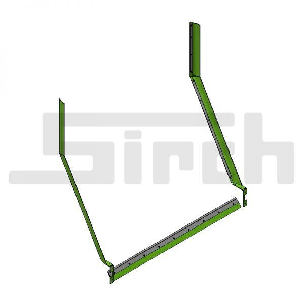 Abstreifersatz kpl. für 3 m breites Schild Art.Nr. 25583