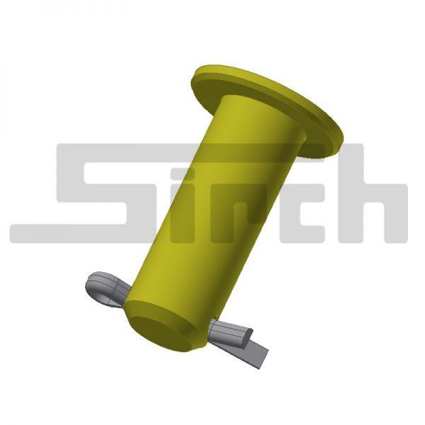 Bügel Stecker mit Bund Art.Nr. 21722