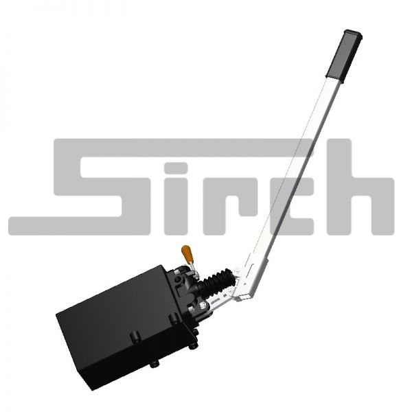 Handhydraulik - Handpumpe 25 qcm P45de inkl. Pumpenhebel und Behälter Art. Nr. 21501